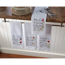 Bible Verses Tea Towels