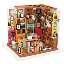 DIY Miniature Bookstore Kit