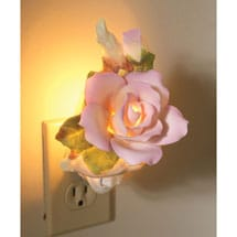 Porcelain Rose Nightlight