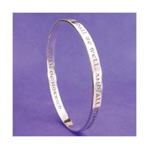 All Shall Be Well Bangle by Julian of Norwich
