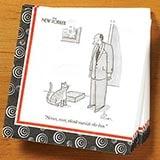 <i>New Yorker</i> Cat Cartoon Napkins (Set of 2)