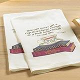 Tea & Books Tea Towels (set of 2)