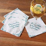 Jane Austen Cocktail Napkins