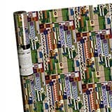 Frank Lloyd Wright Saguaro Forms Wrapping Paper