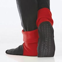 Reader's Red and Black MocSocks