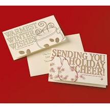 Holiday Recipe Letterpress Cards