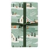Season's Greetings Wrapping Sheets