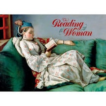 The Reading Woman Note Cards