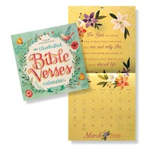 2016 Illustrated Bible Verses Wall Calendar