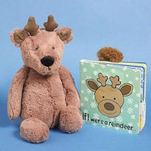 If I Were a Reindeer with Reindeer Plush