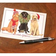 Santa's Yelpers Cards
