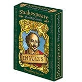 Literary Playing Cards - Shakespeare Insults