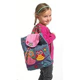 Quilted Backpacks - Owl