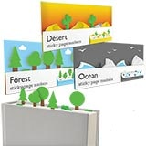 Literary Landscape Sticky Page Markers