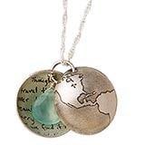 Globe Locket Necklace