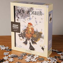 Snow Birds <i>New Yorker</i> Puzzle