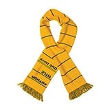 Library Card Scarves - Yellow