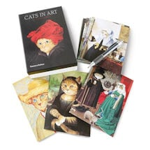 Cats in Art Note Cards