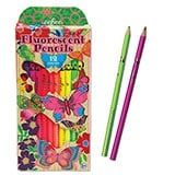 Butterfly Fluorescent Colored Pencils