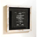 Fountain Pen Patent Framed Art