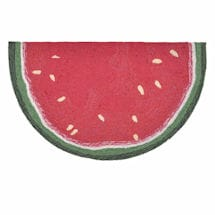 Watermelon Slice Rug
