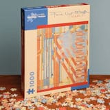 Frank Lloyd Wright Flags Puzzle