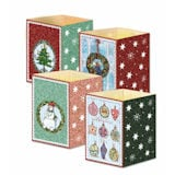 Christmas Mini Advent Lantern Cards