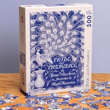 <i>Pride and Prejudice</i> Peacock Puzzle