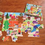 Around the Town Giant Floor Puzzle