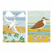 Shorebirds Tea Towels