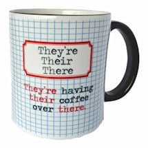 They're, Their, There Mug