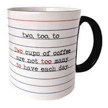 Two, Too, To Mug