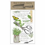 How to Grow Herbs Towel