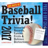 2017 365 Days of Baseball Trivia Page-a-Day Calendar