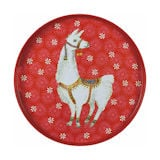 Holiday Llama Tray