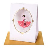 Nutcracker Ballerina Card