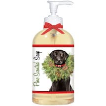 Wreath Dog Balsam Soap