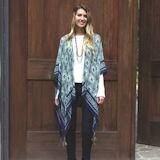 Peacock Kimono Wrap