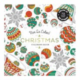 Vive Le Color: Christmas Coloring Book