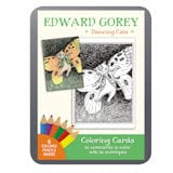Edward Gorey Dancing Cats Coloring Cards