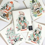 Nutcracker Christmas Cards