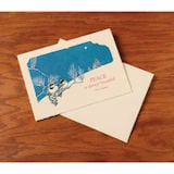Beautiful Peace Letterpress Holiday Cards