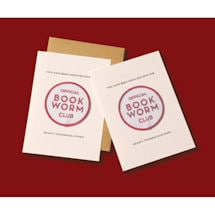 Book Worm Patch Note Cards