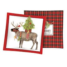 Reindeer with Cardinals Balsam Sachet
