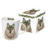 Glacier Wolf Mug