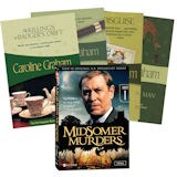 Set of Four Books and Midsomer Murders: Series One DVDs