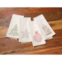 Christmas Carols Tea Towels