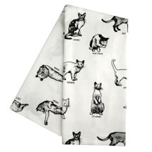 Cat Commands Tea Towel