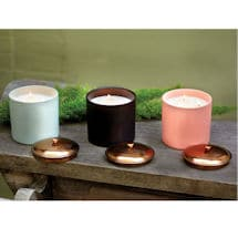 Hygge Candles - Bergamot and Mahogany (Black)