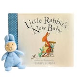 Little Rabbit's New Baby with Little Rabbit Plush